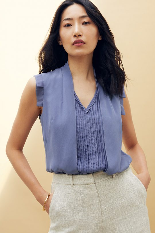 https://thefoldlondon.com/wp-content/uploads/2021/04/TheFold_Wilton_Sleeveless_Blouse_Slate_Blue_Silk_Chiffon_DB141_2104_2_1_v2.jpg