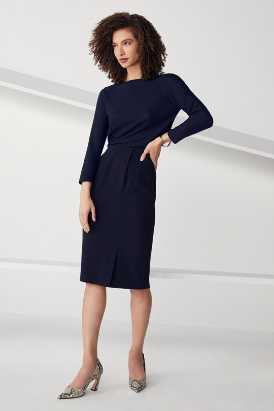 TheFold_Clever_Crepe_Pencil_Skirt_Navy_DS058_2108_2_v2