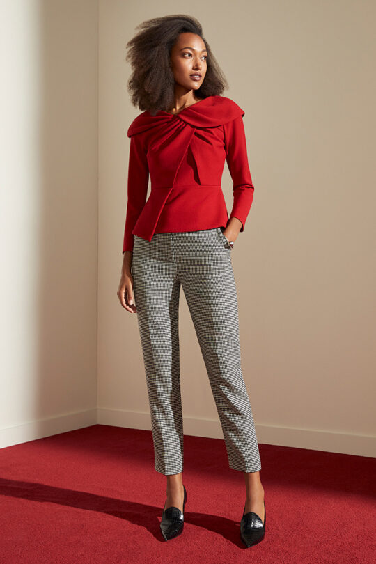 TheFold_Kingston_Trousers_Black_&_Ivory_Micro-Check_Wool_DT102_2111_2_v2